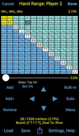 odds of aa vs kk pre flop calculator fractions