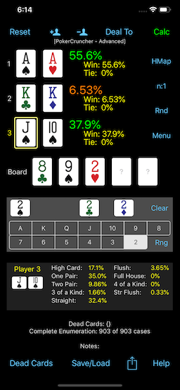 PokerCruncher - Advanced Poker Odds Apps - Tutorials, Videos & Education