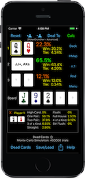 PokerCruncher-iPhone - Basic Calculation