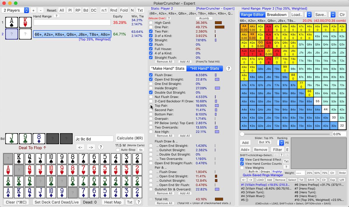 PokerCruncher - Advanced Poker Odds Apps - Tutorials, Videos & Education